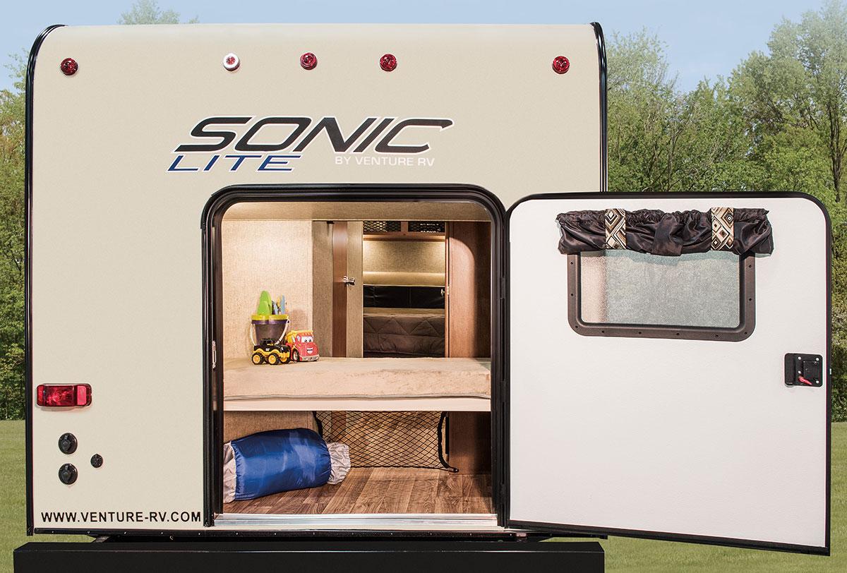 2017 Sonic Lite Sl169vbh Travel Trailer Venture Rv