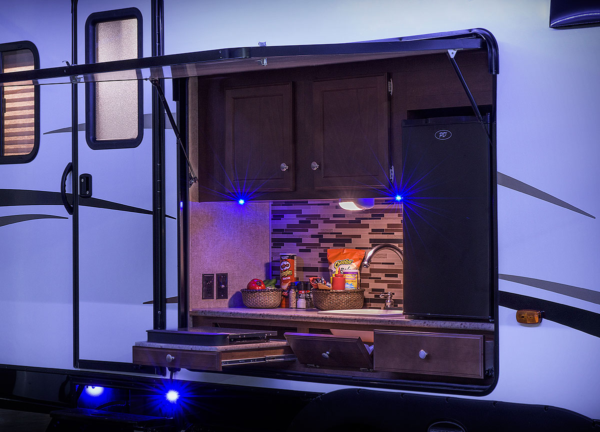 Travel Trailers With Outside Kitchens For Sale