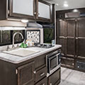 2018 Venture RV Sonic Lite SL150VRK Travel Trailer Kitchen