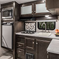 2018 Venture RV Sonic Lite SL167VMS Travel Trailer Kitchen