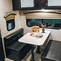 2018 Venture RV Sonic Lite SL169VRD Travel Trailer Dinette in Coffee Decor