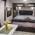 2018 Venture RV Sonic SN200VML Travel Trailer Bed