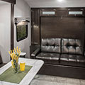 2018 Venture RV Sonic SN200VML Travel Trailer Sofa