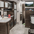 2018 Venture RV Sonic SN220VBH Travel Trailer Kitchen