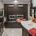 2018 Venture RV Sonic SN220VBH Travel Trailer Sofa