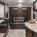 2018 Venture RV Sonic SN220VRB Travel Trailer Sofa