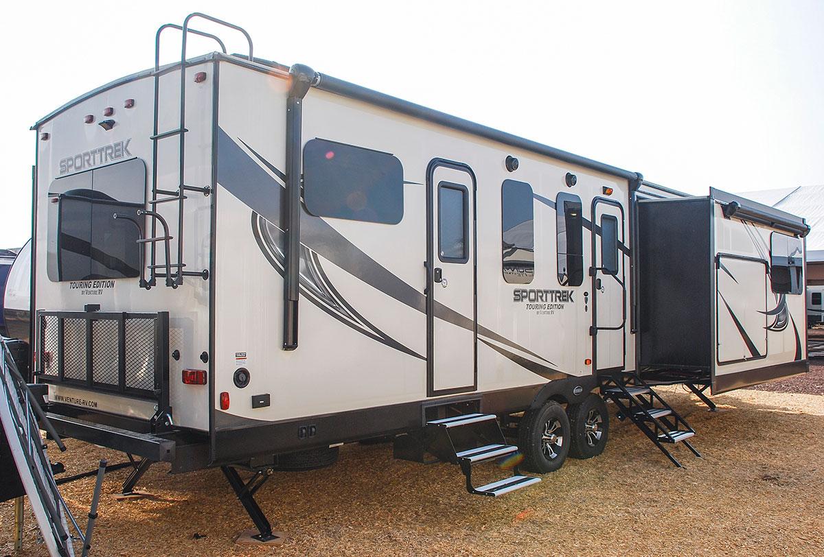 Sporttrek Touring Edition Stt333vfk Travel Trailer Venture Rv