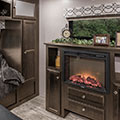 2018 Venture RV SportTrek Touring Edition STT336VRK Travel Trailer Fireplace
