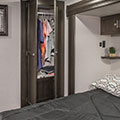 2018 Venture RV SportTrek Touring Edition STT343VIK Travel Trailer Bedroom Closet
