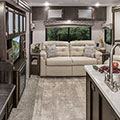 2018 Venture RV SportTrek Touring Edition STT343VIK Travel Trailer Living Room