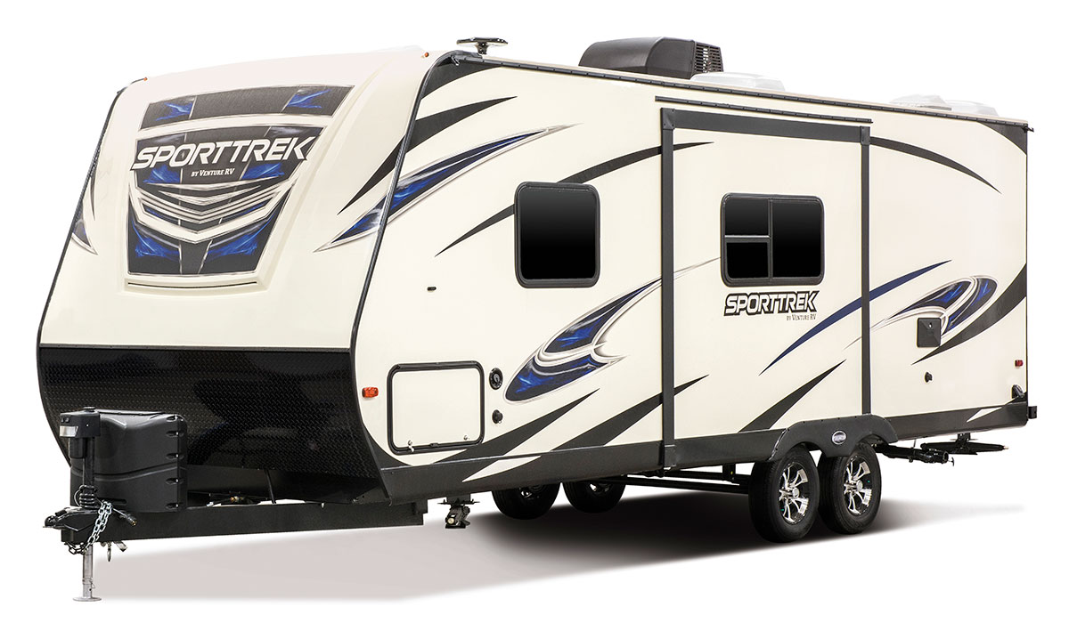 Sporttrek St251vbh Travel Trailer Venture Rv