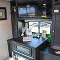 2018 Venture RV SportTrek ST251VRK Travel Trailer Fireplace