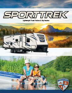 2018 Venture RV SportTrek Travel Trailers and Toy Haulers Brochure