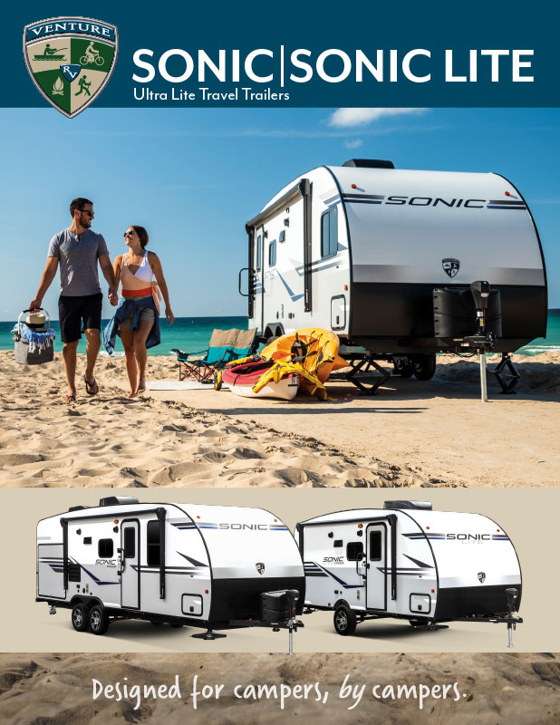 2020 Venture RV Sonic Ultra Lite Travel Trailers Brochure