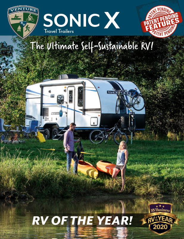 2020 Venture RV Sonic X Ultra Lite Travel Trailers Brochure