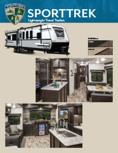 2020 Venture RV SportTrek Lightweight Travel Trailers Flyer