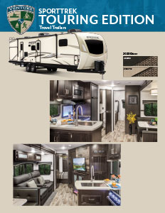 2020 Venture RV SportTrek Touring Edition Travel Trailers Flyer