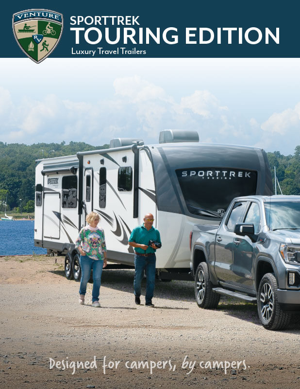 2021 Venture RV SportTrek Touring Edition Luxury Travel Trailers Brochure