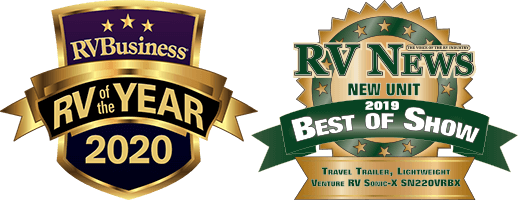 Venture RV Business RV of the Year and RV News Best of Show Awards