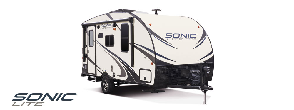 2018 Venture RV Sonic Lite Travel Trailer Exterior