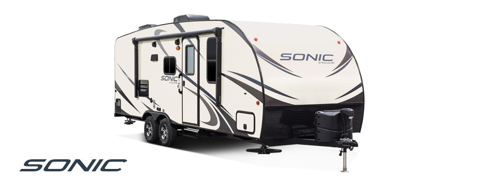 2018 Venture RV Sonic Travel Trailer Exterior