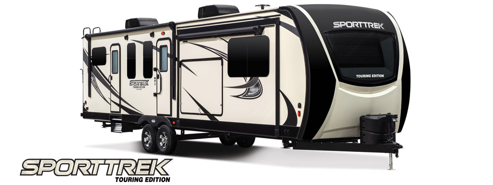 2018 Venture RV SportTrek Touring Edition Travel Trailer Exterior