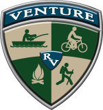 Venture RV Travel Trailers and Toy Haulers Logo