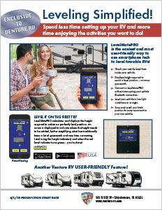 Venture RV Level Mate PRO Wireless Vehicle Leveling System Flyer