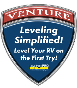 Venture RV Level Mate PRO Wireless Vehicle Leveling System Logo