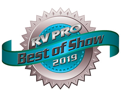 RV Pro 2019 Best of Show Award
